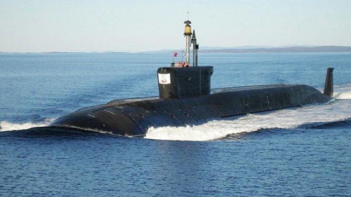 Submarin militar rus, depistat în timp ce naviga neautorizat în apele teritoriale israeliene. Tel Aviv-ul a activat sistemul de alertă