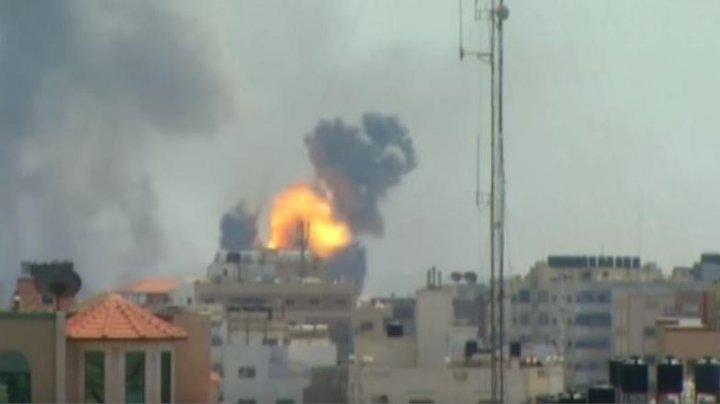 Armata israeliană a interceptat două rachete lansate din Fâșia Gaza