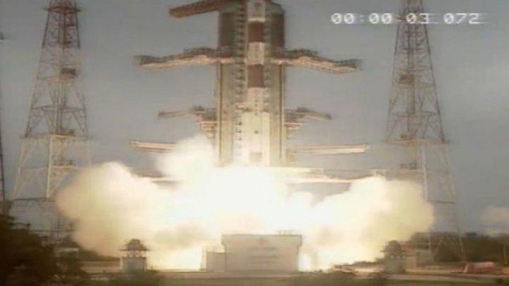 India a lansat 14 sateliţi pe orbită, pentru o observare mai bună a Pământului