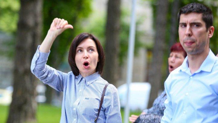 Maia Sandu revine pe baricade şi cheamă la proteste