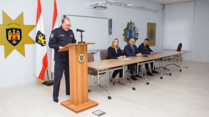 Vezi cine este noul şef interimar al Direcției de Poliție a municipiului Chișinău