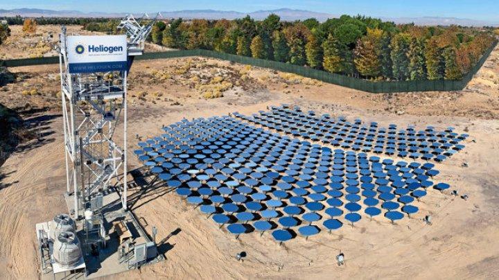 Furnalul solar finanţat de Bill Gates ar putea produce hidrogen pentru alimentarea vehiculelor nepoluante