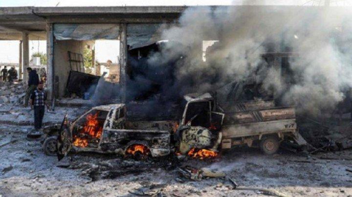 Siria: 17 persoane au fost ucise în explozia unei maşini-capcană în zona sub control turc