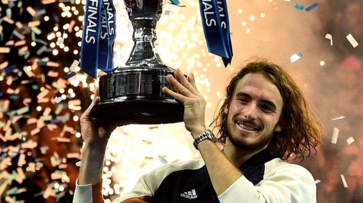 Tenismanul Stefanos Tsitsipas a câştigat Turneul Campionilor 2019
