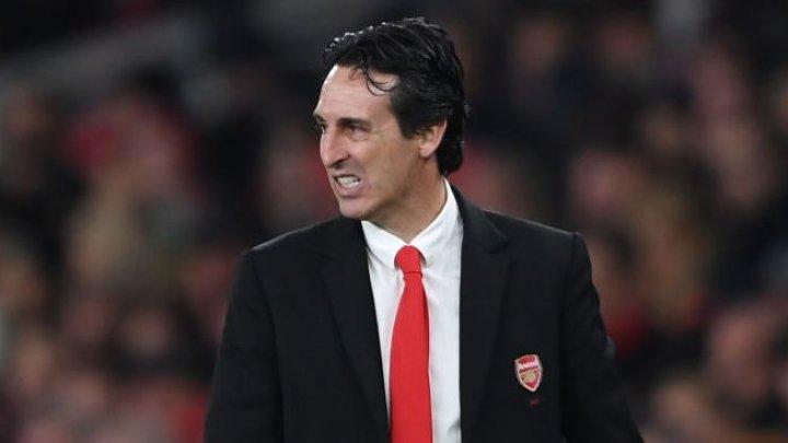 Antrenorul Unai Emery a fost demis de la Arsenal Londra