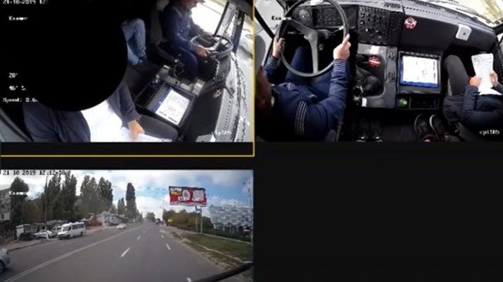 REACŢIA autorităţilor, după ce un şofer s-a plâns de condiţiile în care trebuia să dea examenul la şcoala auto (VIDEO)