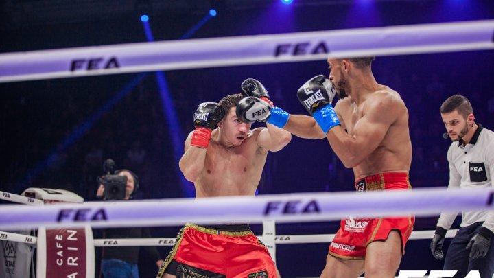 Show de zile mari la Gala FEA Kickboxing World Grand Prix. Marin Vetrilă a câştigat turneul-piramidă în categoria de greutate de până la 65 de kg