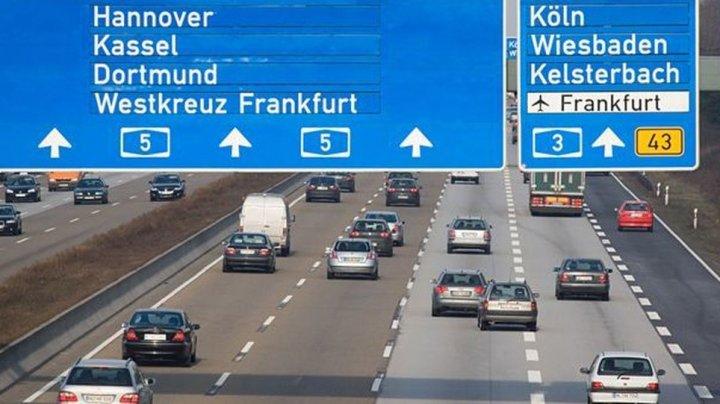Un adolescent de 14 ani a condus 260 de kilometri pe autostrăzile Germaniei până să fie prins de poliție
