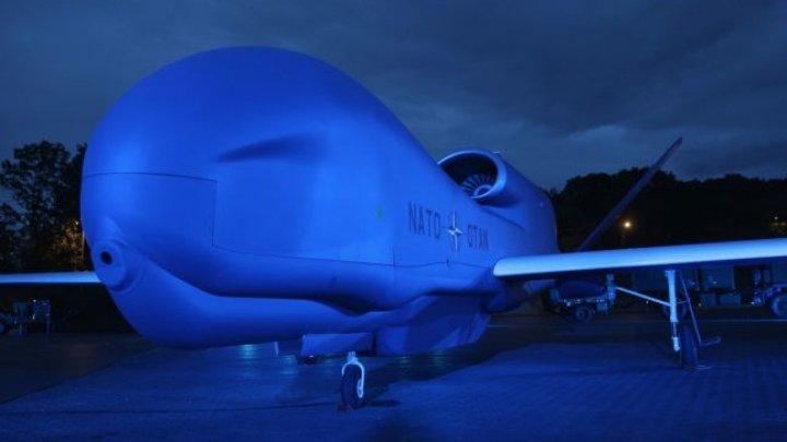 NATO primeşte a doua dronă Global Hawk, fabricată de americani