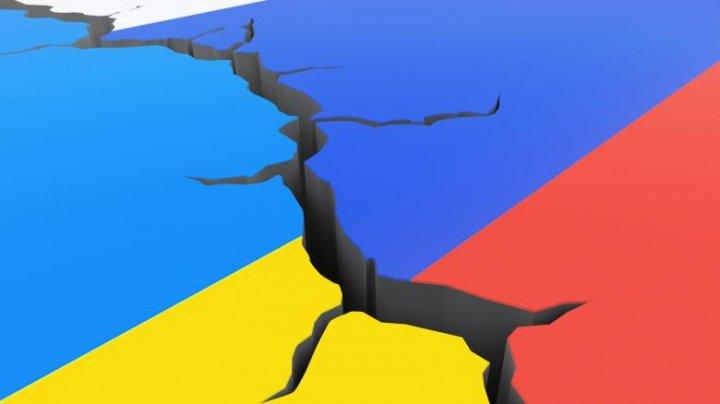 Ucraina vrea să construiască un zid la graniţa cu zonele separatiste pro-ruse