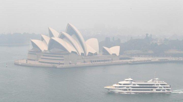 """Oraşul Sydney se confruntă cu o """"urgenţă de sănătate publică"""" din cauza fumului toxic"""