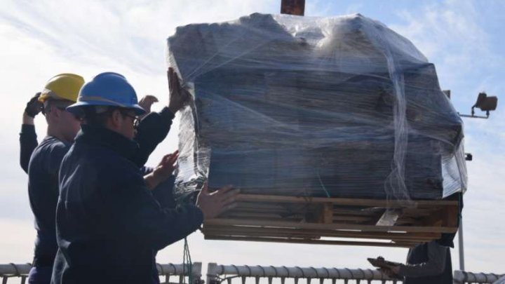 Captură impresionantă de cocaină de sute de milioane de dolari, capturată în două luni în apele Pacificului