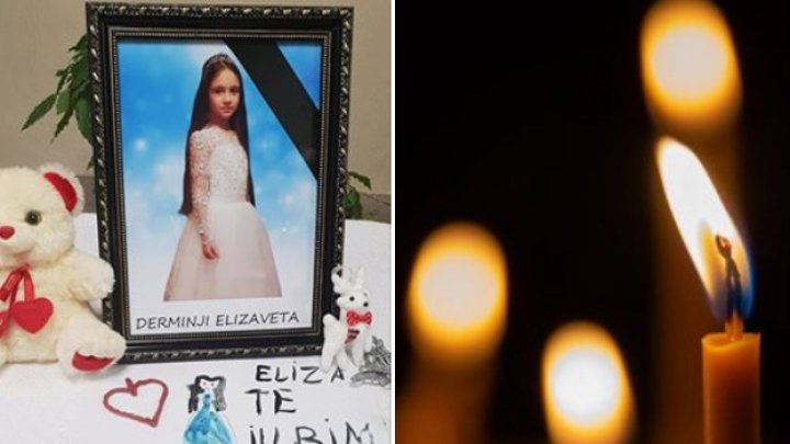 Oraşul Ialoveni, în DOLIU. Întreaga comunitate deplânge moartea fetiţei, spulberată de o maşină pe trecerea de pietoni