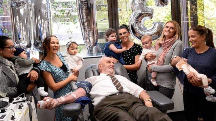 Bărbatul care a salvat 2,4 milioane de bebeluși! A intrat în Cartea Recordurilor