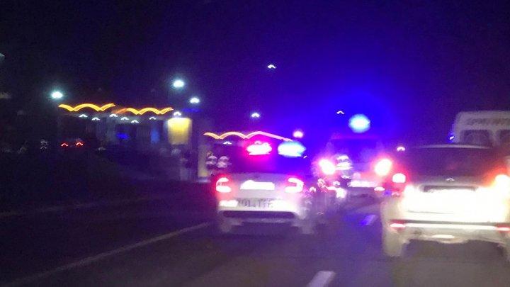Accident grav pe strada Alba Iulia din Capitală. Bărbatul lovit de mașină a MURIT