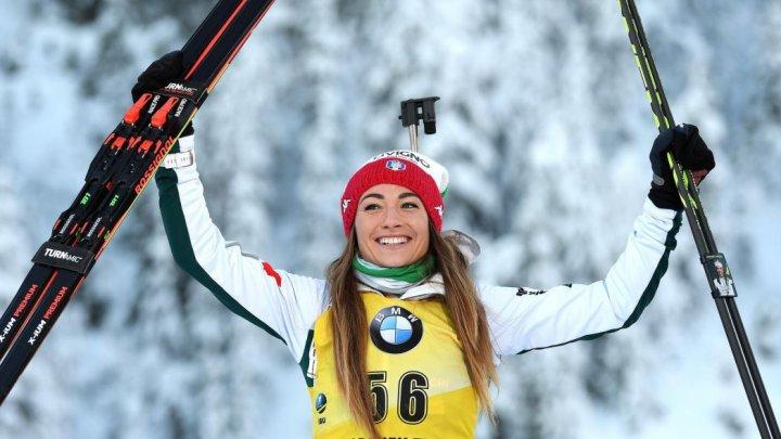 TRIUMF LA HOCHFILZEN! Dorothea Wierer a câştigat a doua etapă în proba de sprint