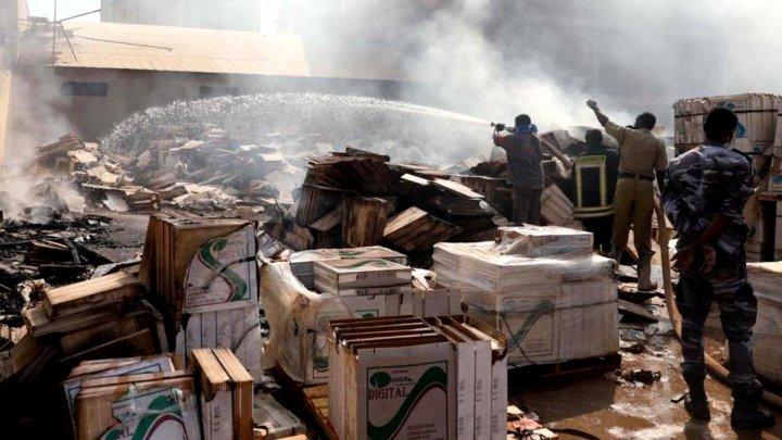 Sudan: 23 de morți și 130 de răniți într-un incendiu la o uzină