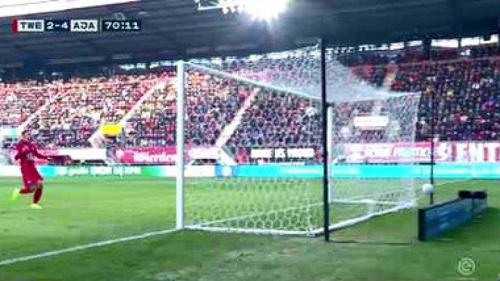 Gol bizar la campionatul olandez de fotbal
