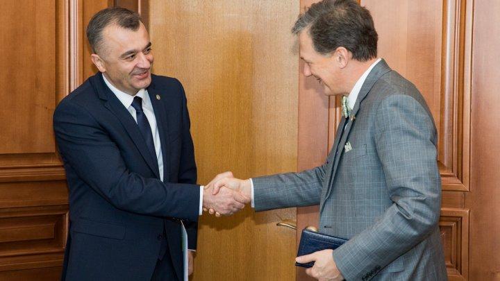 Premierul Chicu la întrevederea cu George Kent: Suntem o echipă care își dorește să schimbe lucrurile în Moldova