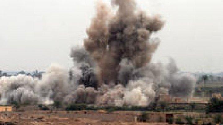 Baza militară iraniană din Siria a fost vizată de un atac aerian