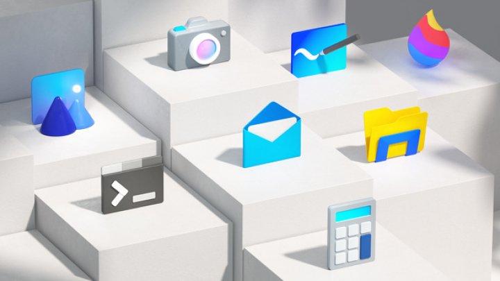 Microsoft dezvăluie un noul design pentru logo-ul Windows şi icon-urile aplicaţilor de sistem
