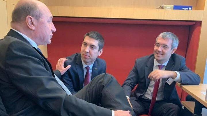 Deputaţii Mihai Popşoi şi Sergiu Sîrbu s-au întâlnit la Strasbourg cu Traian Băsescu. Ce mesaj le-a transmis fostul lider de la Cotroceni