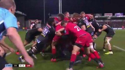 Clubul de rugby Saracens va fi retrogradat la finalul sezonului în divizia a doua engleză