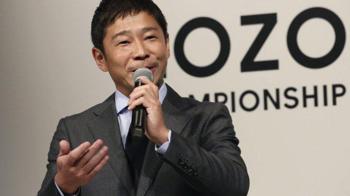 Un miliardar japonez va împărți nouă milioane de dolari unor oameni aleși la întâmplare de pe o reţea de socializare