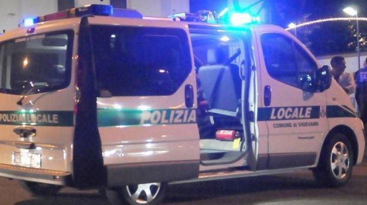 Un moldovean a provocat un accident rutier în Italia: Era beat criţă şi a intrat cu maşina într-o clădire