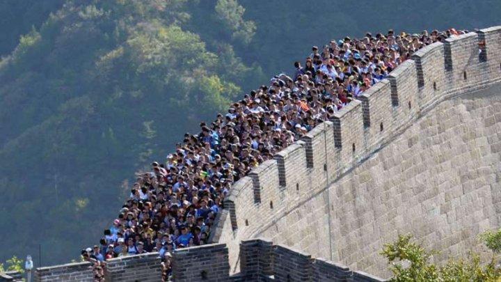 O porţiune din Marele Zid a fost închisă din cauza coronavirusului