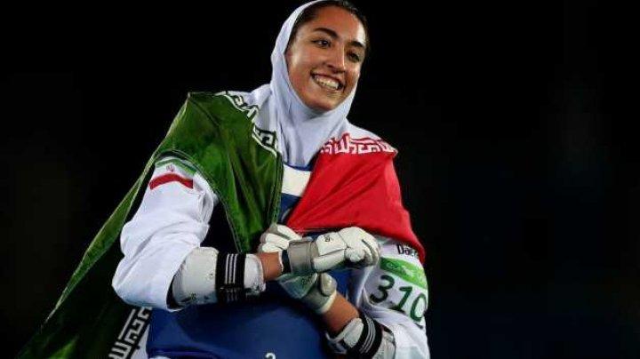 Iranul minte din nou: Declaraţie şocantă despre fuga celei mai iubite sportive a ţării