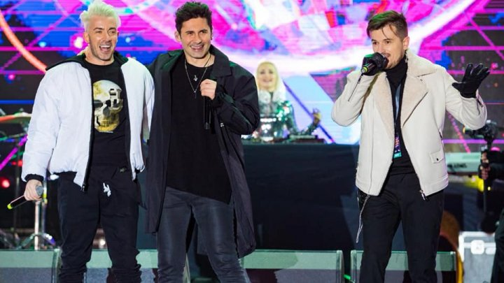 S-au reunit de Revelion. Băieţii de la O-Zone au cântat, la Bucureşti, în noaptea dintre ani (VIDEO)