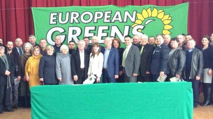 Vitalie Marinuţa a fost ales preşedinte al Partidului Verde Ecologist