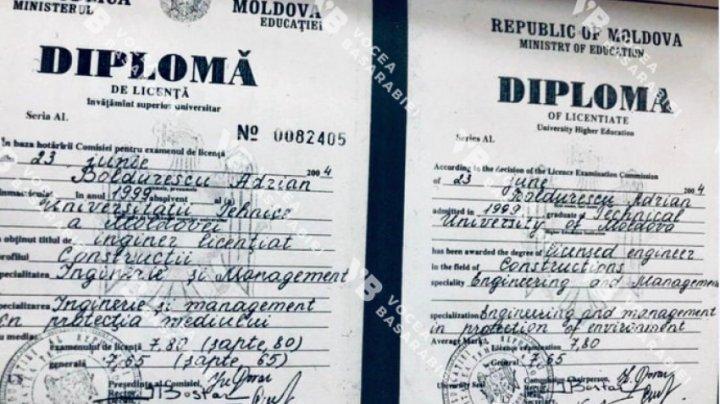 Adrian Boldurescu ar fi demisionat din cauza diplomei de studii false