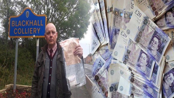Misterul pachetelor cu bani, care apăreau periodic pe străzile unui orășel din Marea Britanie