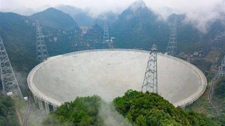 FAST, cel mai mare radiotelescop din lume, a devenit operaţional