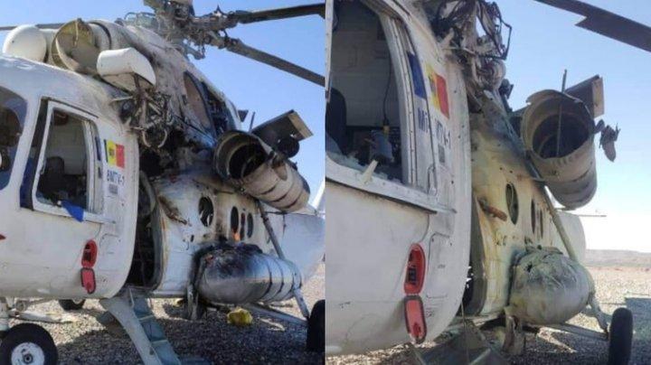 Un elicopter din Republica Moldova a fost doborât în Afganistan. Sunt răniți (FOTO)