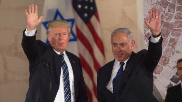 SUA avertizează Israelul să amâne anexările prevăzute în planul lui Donald Trump