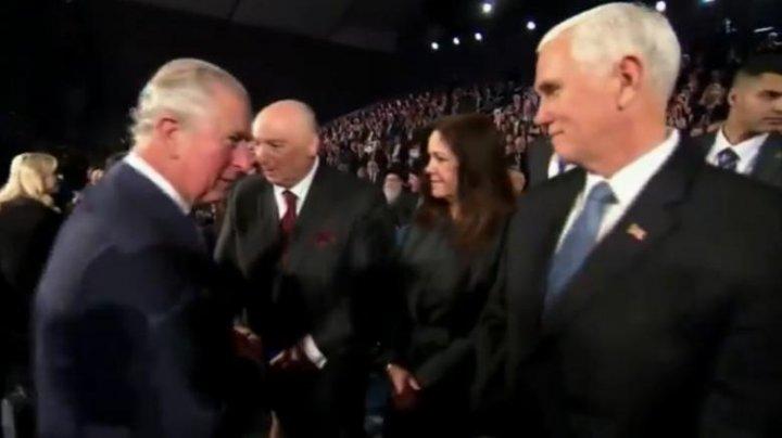 Cum a fost privit vicepreşedintele SUA de liderii lumii la forumul comemorării Holocaustului de la Ierusalim