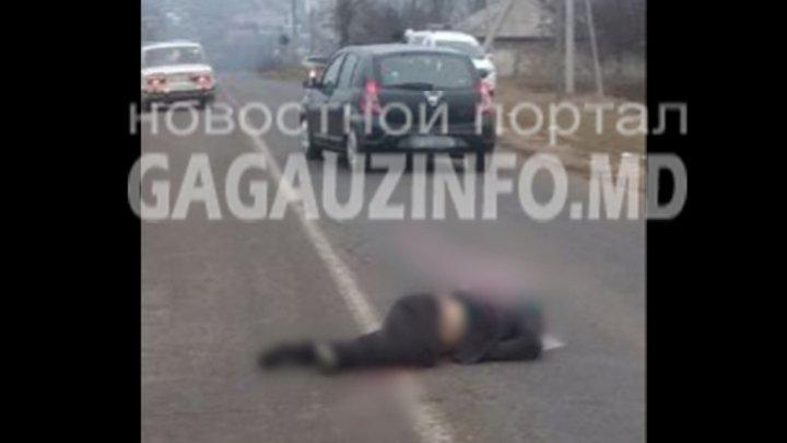 ACCIDENT FATAL în Ceadîr-Lunga. Un bărbat s-a aruncat sub roţile unei maşini