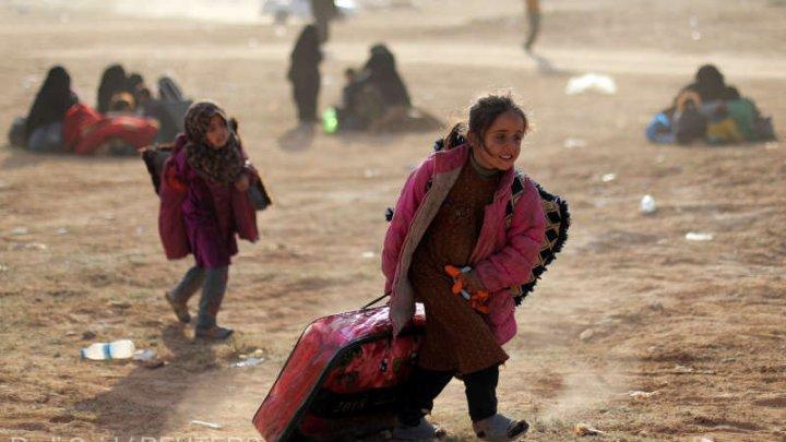Peste 500 de oameni, majoritatea copii, au murit în 2019 în tabăra Al-Hol din Siria