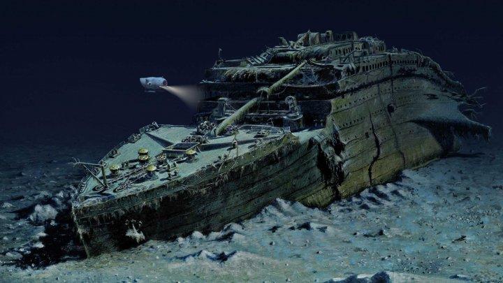 Nava Titanic, aflată la 4.000 de metri adâncime, a intrat sub protecția SUA și a Marii Britanii
