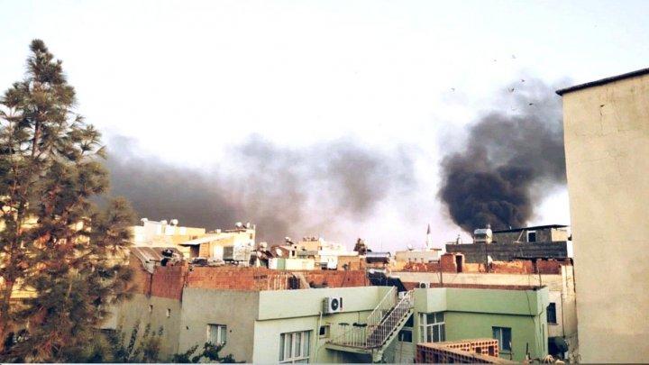 Raid aerian al Rusiei într-un sat din nord-vestul Siriei. Cinci civili au murit