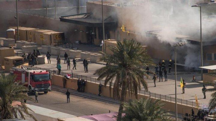 Cinci rachete Katiuşa au căzut în apropierea ambasadei SUA la Bagdad