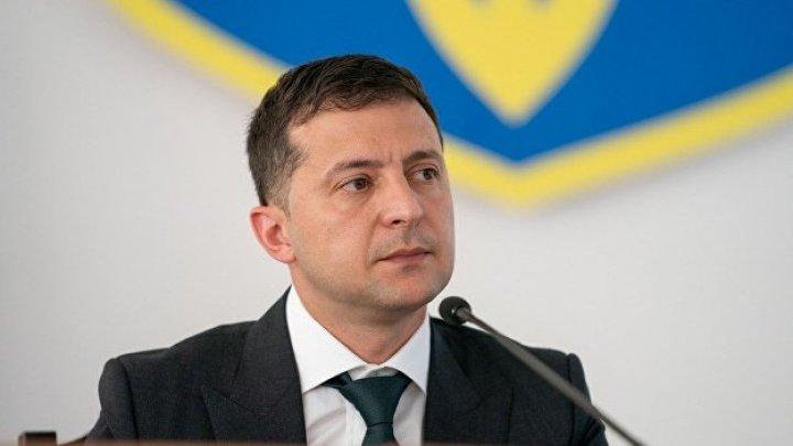 Preşedintele Ucrainei, Vladimir Zelenski, a respins demisia premierului Honcearuk