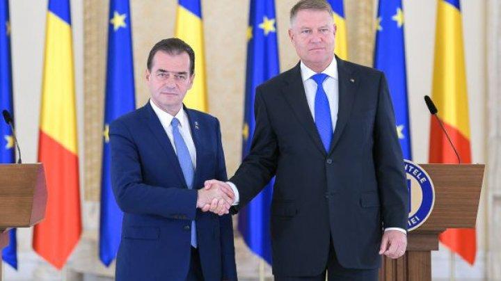 Preşedintele României a anunţat că Ludovic Orban şi-a depus mandatul de prim-ministru desemnat