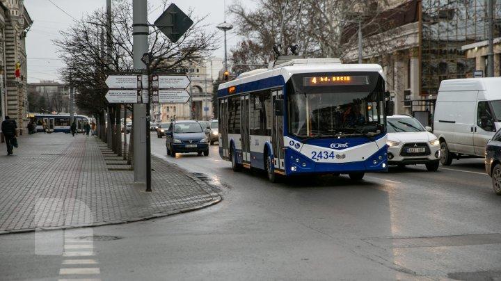 Noi MODIFICĂRI privind circulația transportului public în Capitală, în weekend