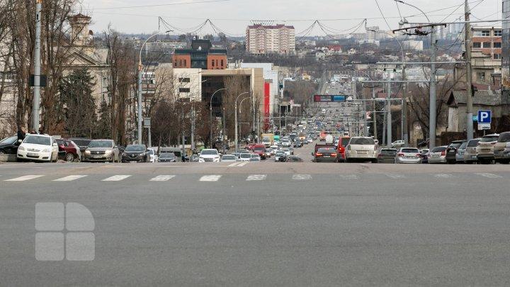 InfoTrafic: Flux minim de transport pe străzile Capitalei