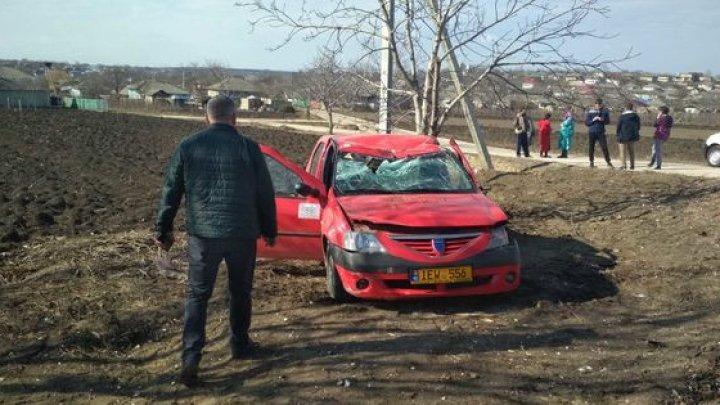 ACCIDENT GRAV la Făleşti. Şoferul a murit pe loc (FOTO)