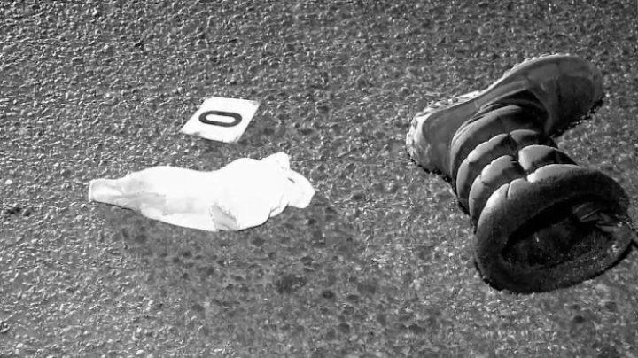 A LOVIT MORTAL o femeie, la ieșirea din Mereni. Şoferul a fost reţinut. Cine este acesta